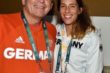 Deutsches Haus Rio 2016 mit Tennisspielerin Andrea Petkovic 2016