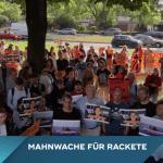 Mahnwache in Köln für Kapitänin von Rettungsschiff